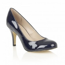 Lotus 'Izzile' Ladies Heels (Navy Patent)
