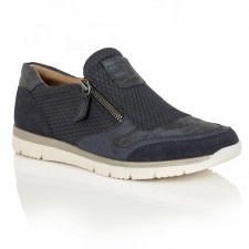Lotus 'Marigold' Comfort Shoes (Navy)