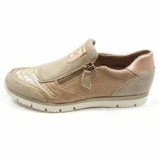 Lotus 'Marigold' Comfort Shoes (Rose Gold)
