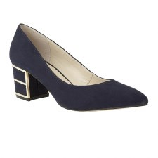 Lotus 'Mercy' Ladies Heels (Navy)