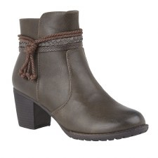 Lotus 'Odetta' Ladies Ankle Boots (Brown)