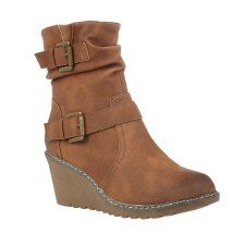 Lotus 'Pheobe' Ladies Ankle Boots (Tan)