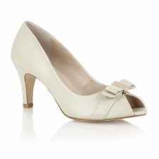 Lotus 'Roseanne' Ladies Peep-Toe Heels (Cream)