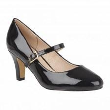 Lotus 'Savannah' Ladies Heels (Black)