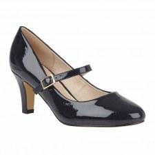 Lotus 'Savannah' Ladies Heels (Navy)