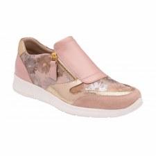 Lotus 'Sian' Ladies Trainers (Pink Floral)