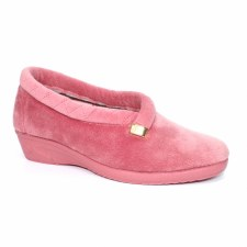 Lunar 'Bridie' Ladies Slippers (Pink)