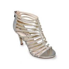 Lunar 'Chloe' Ladies Heels (Silver)