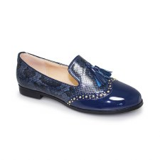 Lunar 'Francine' Ladies Shoes (Blue Snake)