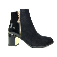Lunar 'Goldie' Ladies Ankle Boots (Black)