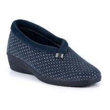 Lunar 'Greta' Ladies Slippers (Blue)