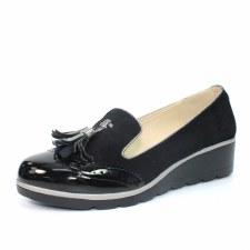 Lunar 'Karina' Ladies Shoes (Black)