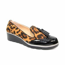 Lunar 'Karina' Ladies Shoes (Black Ocelot)