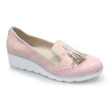 Lunar 'Karina' Ladies Shoes (Pink)