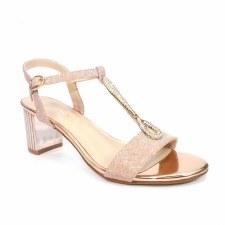 Lunar 'Lopez' Ladies Heels (Rose)