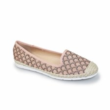 Lunar 'Malibu' Ladies Pumps (Pink)