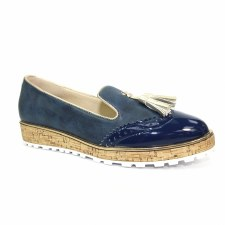Lunar 'Michaela' Ladies Shoes (Navy)