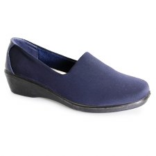 Lunar 'Nicky' Ladies Shoes (Navy)