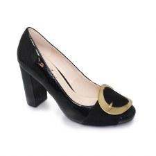 Lunar 'Patsy' Ladies Heels (Black)