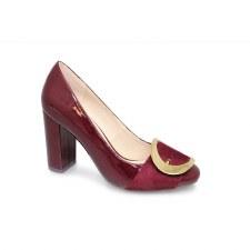 Lunar 'Patsy' Ladies Heels (Burgundy)