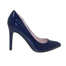 Lunar 'Powell' Ladies Heels (Navy Patent)