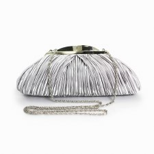 Lunar 'ZLV132' Clutch Handbag (Grey)