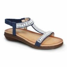Lunar 'Tancy' Ladies Sandals (Blue)