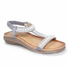 Lunar 'Tancy' Ladies Sandals (Grey)
