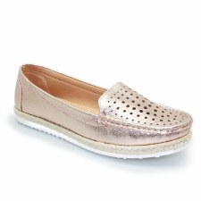 Lunar 'Tyler' Ladies Shoes (Rose Gold)