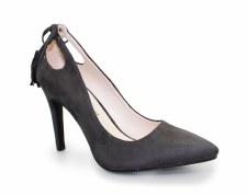 Lunar 'Carmel' Ladies Court Shoes (Grey)