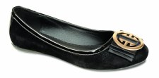 Lunar 'FLH406' Ladies Pomps (Black)
