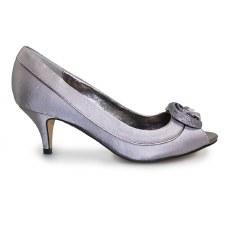 Lunar 'Ripley' Ladies Heels (Silver)