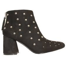 Millie & Co 'Brooklyn' Ladies Ankle Boots (Black)