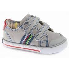Pablosky '961050' Boys Shoes (Grey/Navy)