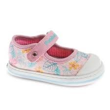 Pablosky '961470' Girls Canvas Shoes (Pink Glitter)