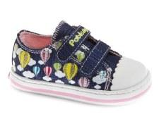 Pablosky '961520' Girls Shoes (Navy Glitter)