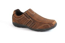 Pod 'Ridge' Leather Shoe (Nutmeg)