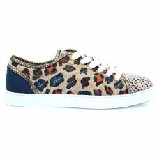Redz 'M15186' Ladies Shoes (Leopard Multi)