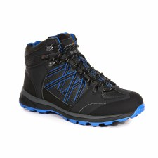 Regatta 'Samaris II' Waterproof Boots (Black/Blue)