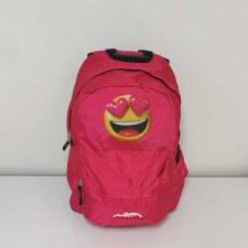 Ridge 53 'Morgan Emoji' Childrens Schoolbag (Pink Emoji)