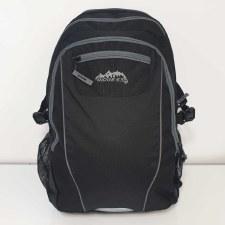 Ridge 53 'Pearse' Childrens Schoolbag (Black/Grey)