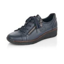 Rieker '53702' Ladies Shoes (Navy)