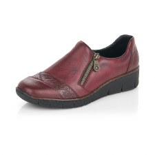 Rieker '53761' Ladies Shoes (Bordo)