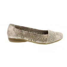 Rieker 'L8357' Ladies Flats (Rose)