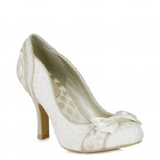 Ruby Shoo 'Amy' Ladies Heels (Cream)