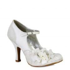 Ruby Shoo 'Emily' Ladies Heels (Silver)