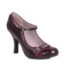 Ruby Shoo 'Georgia' Ladies Heels (Wine)