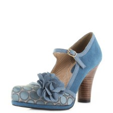 Ruby Shoo 'Hannah' Ladies Heels (Teal)