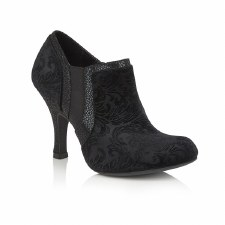 Ruby Shoo 'Juno' Ladies Heels (Black Velvet)