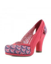 Ruby Shoo 'Livia' Ladies Heels (Coral)
